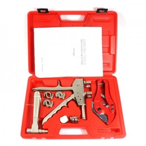 Axial Pex Clamping Tools FT-1225 range 12-25mm for pressing fittings and pipe