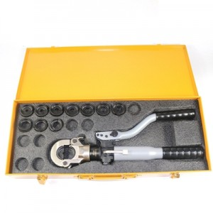 Hydraulic Lug Crimping Tool HT-300 Range 16-300mm² with Flip-top Style, Safety Valve Inside