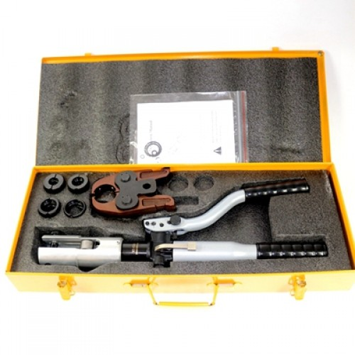 Hydraulic Pressing Tools HT-1550 with pressing force of 32KN, double hydraulic stage