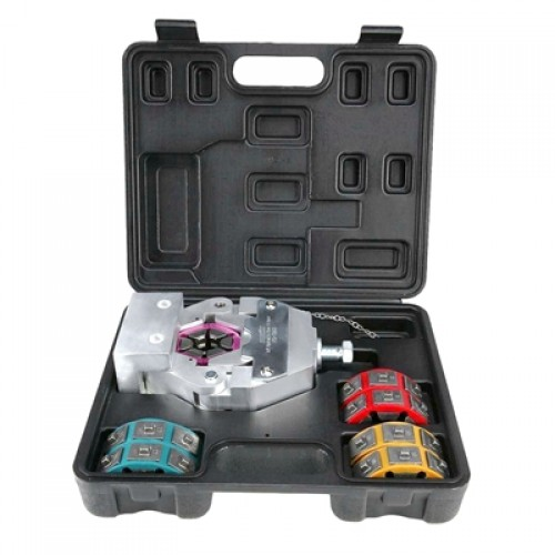 Mechanical AC Hose Crimper Tool Kit IG-71550 is applicable for beadlocking fitting