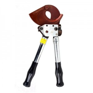 Ratcheting Cable Cutter J52 for cutting copper& aluminum armored cable smaller than 500mm²