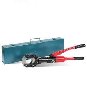 ASCR Hydraulic Cable Cutter CC-50A with safety valve inside for 50mm electrical wire