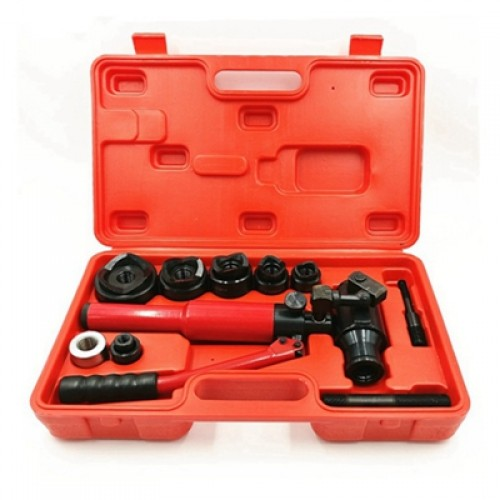 Hydraulic Hole Digger WK-8 punching head rotates 360 for Φ22.5-61.5mm in the 3.5 mild steel