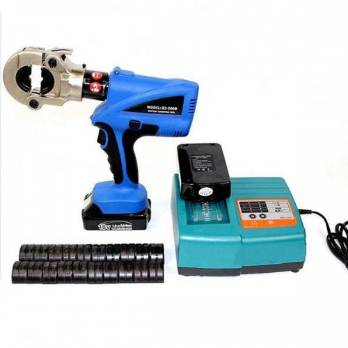 Mini power battery hydraulic crimping tools BZ-300B crimp for 16-300mm²