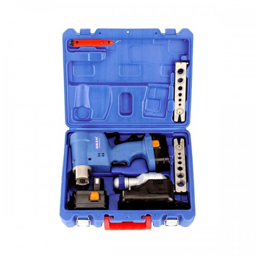 Electric flaring tool kit CT-E806A/ML for flaring different sizes of brass, aluminum tubings