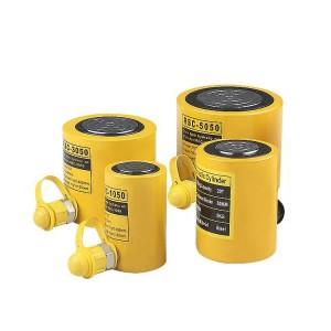 Single acting hydraulic steel lifting cylinder RSC Series